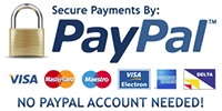 Paypal secure logo